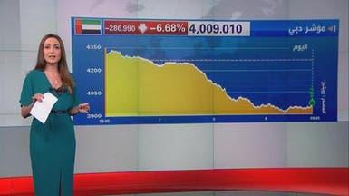 سوق دبي تخسر 6 مليارات دولار والمؤشر يفقد 6.6%