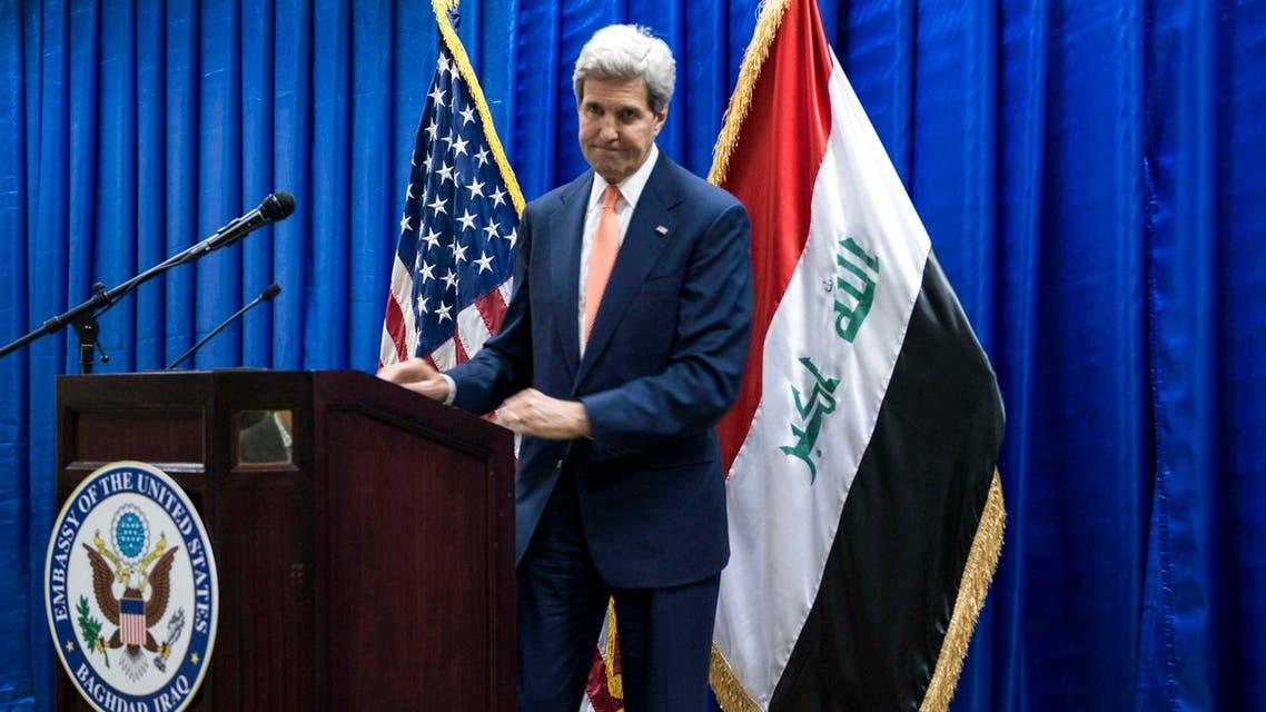 kerry iraq reuters