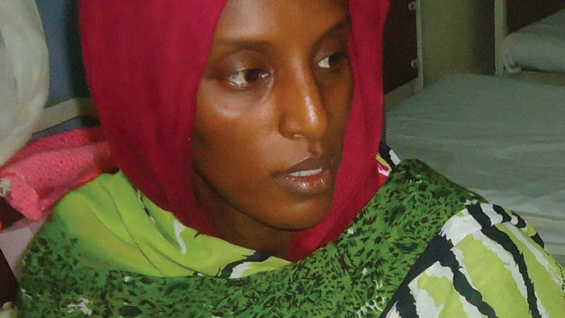 A file picture taken on May 28, 2014 shows Meriam Yahia Ibrahim Ishag, a 27-year-old Christian Sudanese woman sentenced to hang for apostasy. (AFP)
