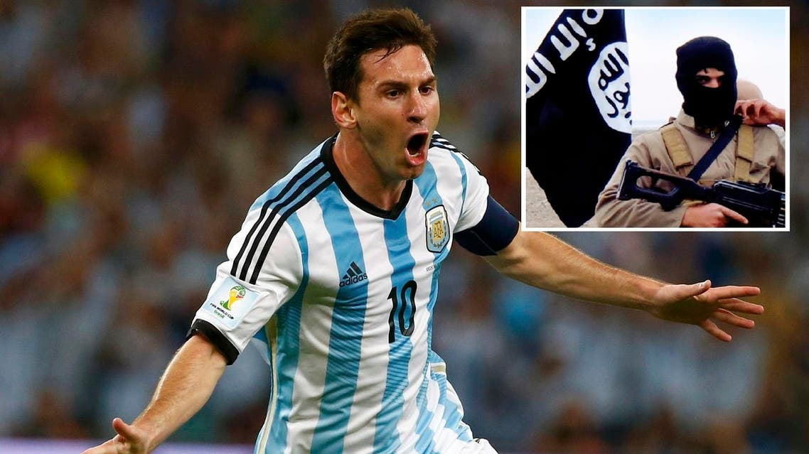 messi isis