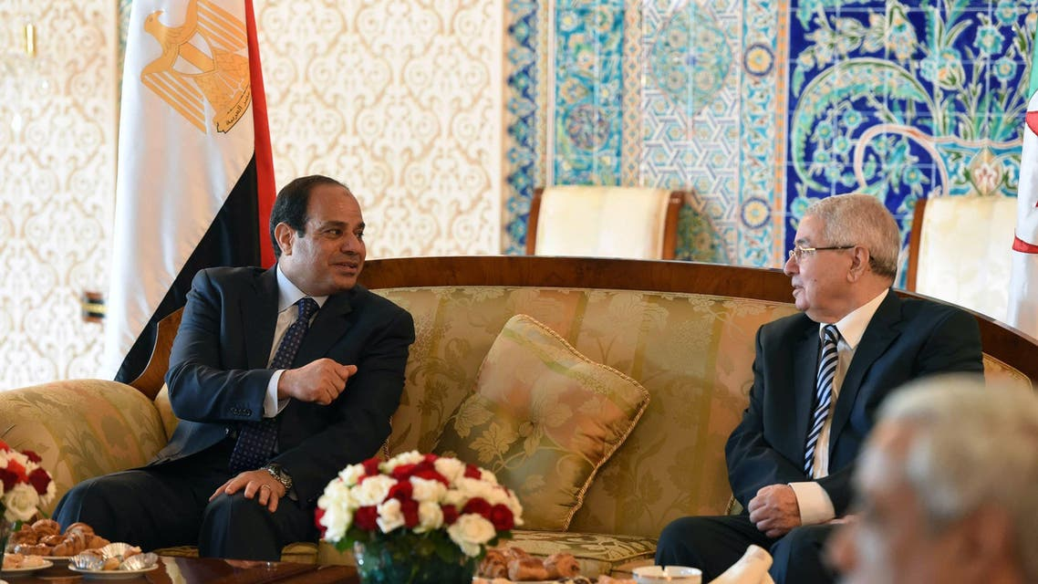 Abdel Fattah al-Sisi Algiers AFP