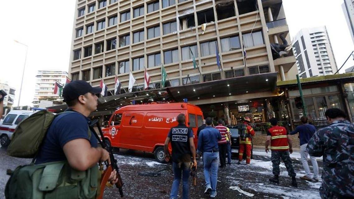 Suicide attack targets Beirut hotel