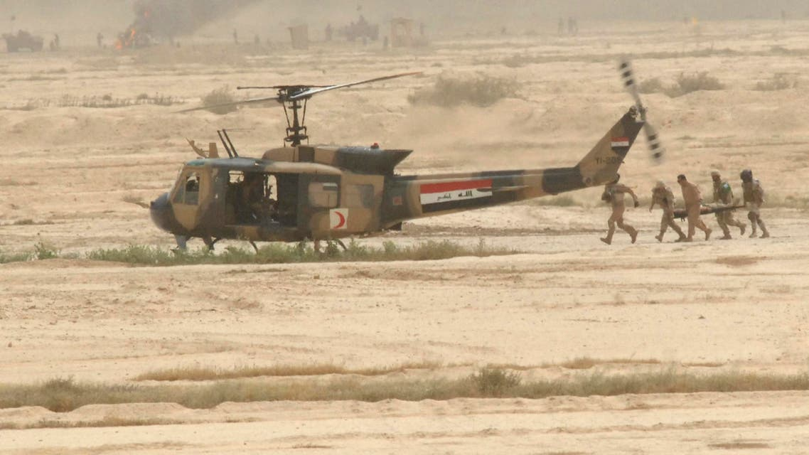 Iraq helicopter reuters