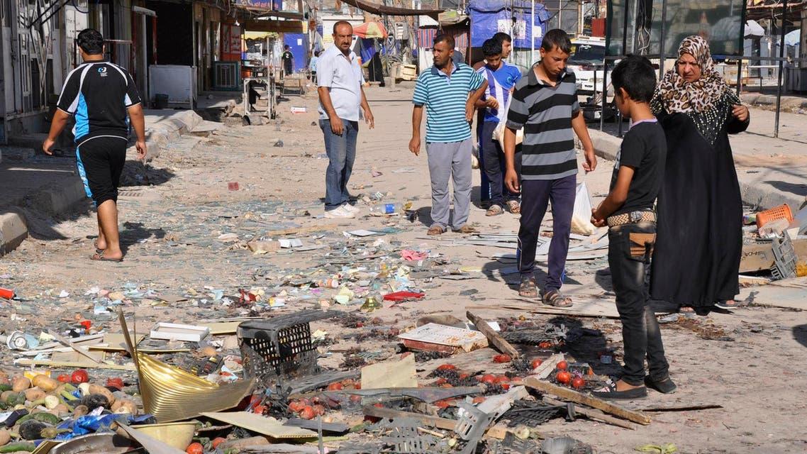 تفجير في العراق بغداد