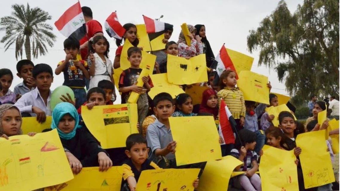 أطفال عراقيينط