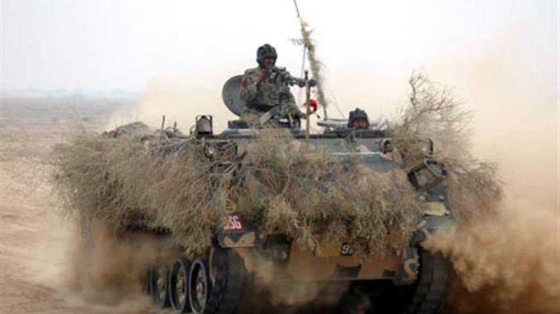 Pak Army Tank