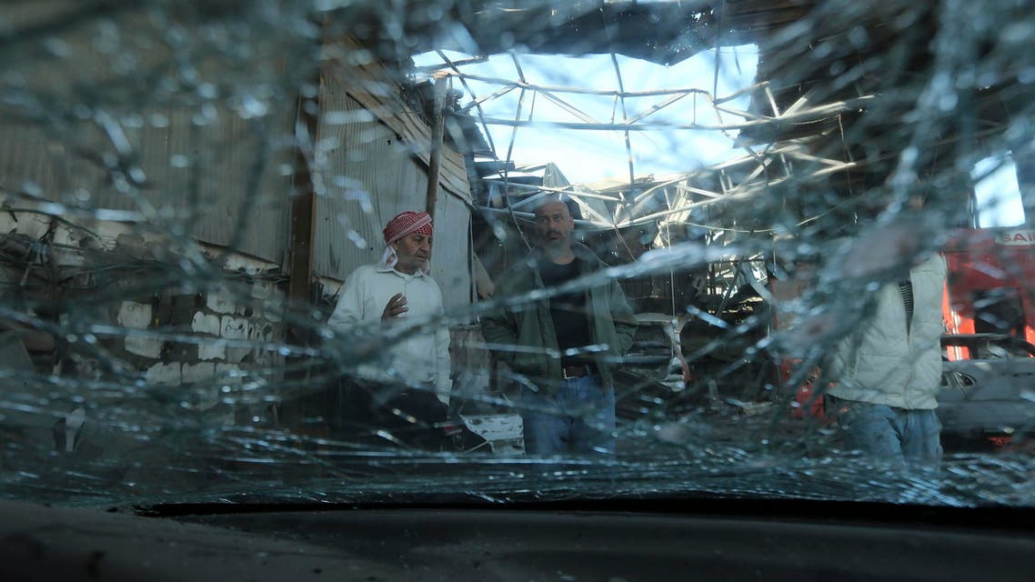 gaza explosion reuters