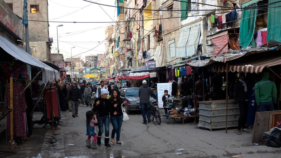Shatila camp beirut reuters