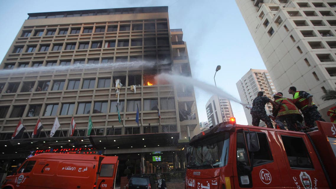 Hotel Du Roy Reuters Beirut Lebanon