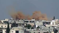 الطيران الحربي يقصف اليرموك والحجر الأسود جنوب دمشق