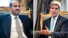 Kerry suggests Syria rebels could fight in Iraq