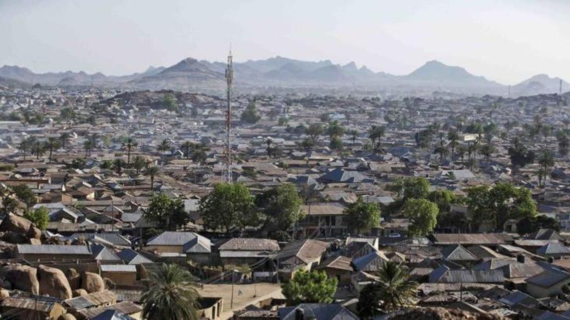 An aerial view of Bauchi town in North Central Nigeria. (Reuters)