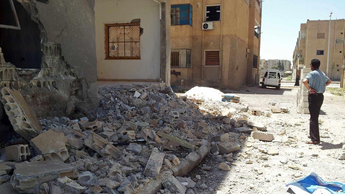 جانب من الدمار اليومي في سوريا