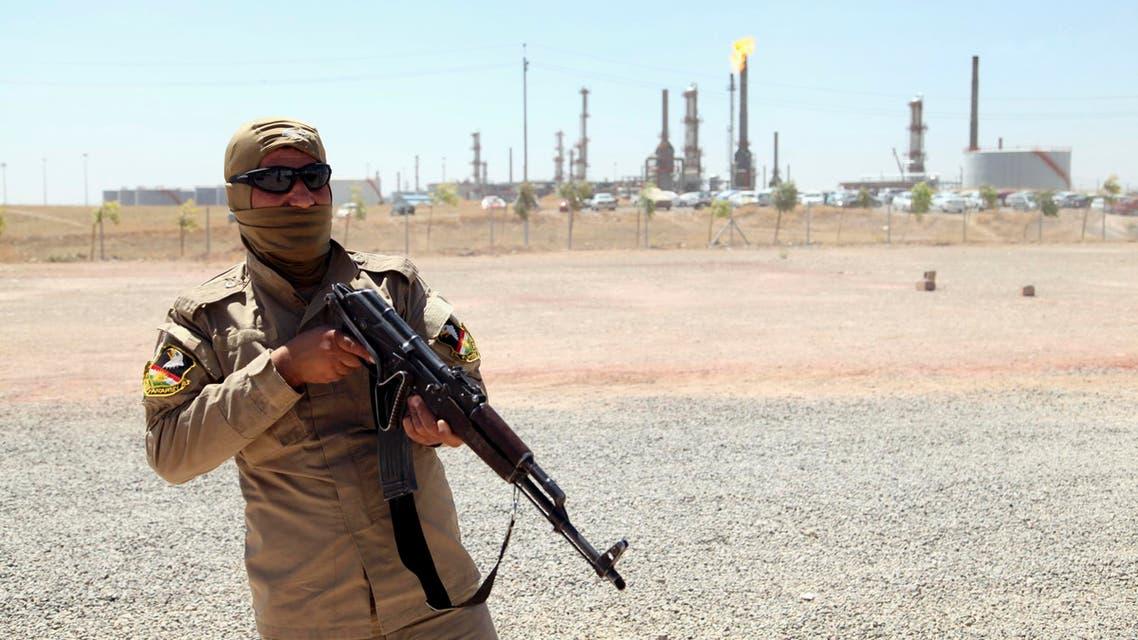 iraq kurdish soldier reuters