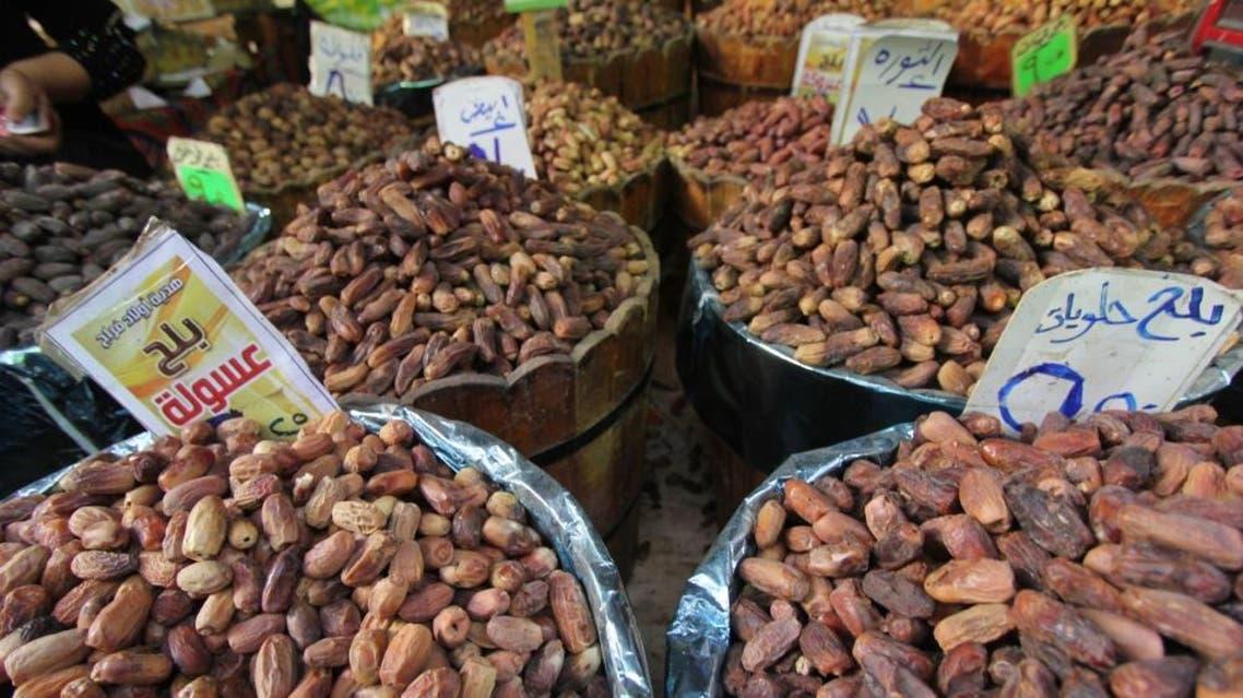 سوق البلح في مصر انواع البلح