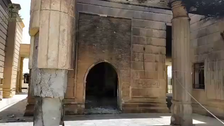 Iraq mosque in ruins after air strike by Maliki's forces