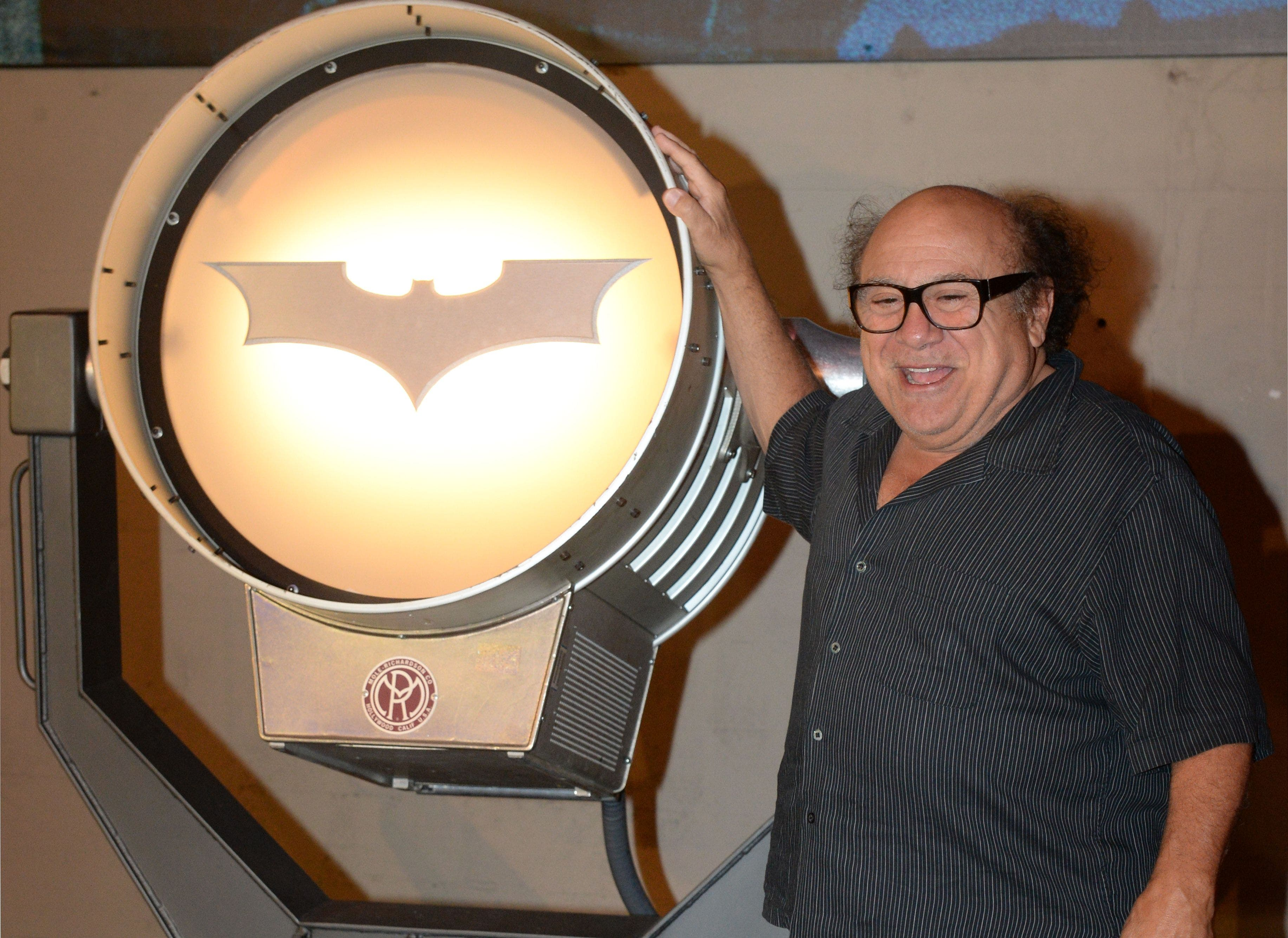Batman exhibit AFP Dani DeVito
