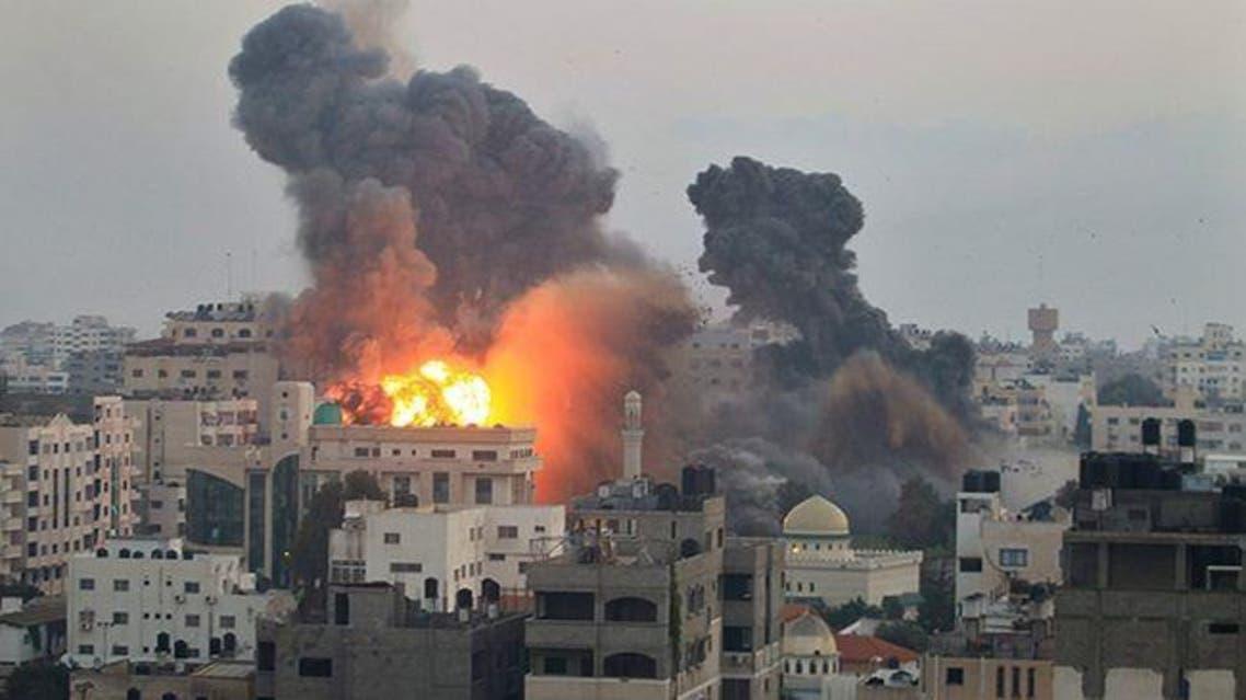 غارة جوية إسرائيلية على غزة