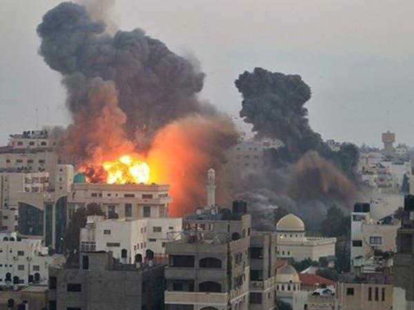 غزة.. غارة جوية إسرائيلية تستهدف موقعا لحماس