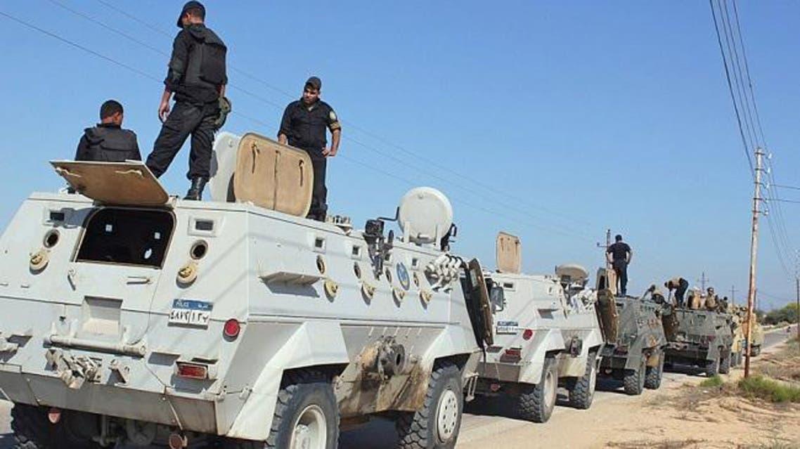 قوات الأمن المصرية في سيناء