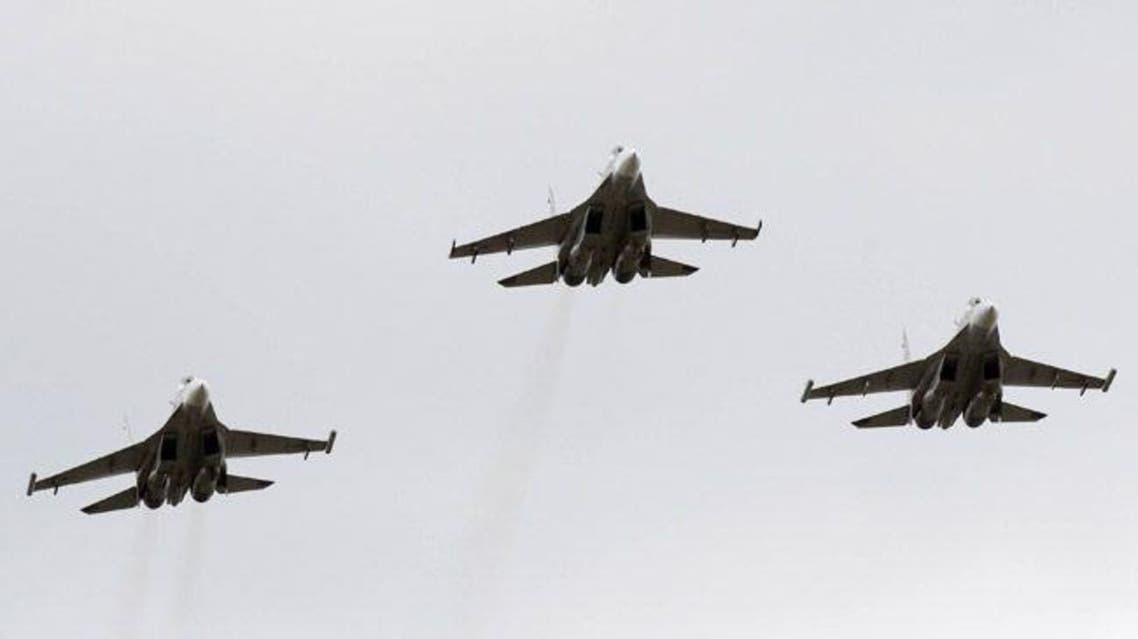 طائرات سوخوي الروسية