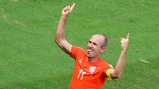 Huntelaar penalty gives Dutch last-gasp 2-1 win in Brazil