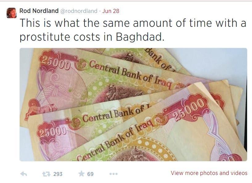 NYT journalist Iraq Rod Nordland