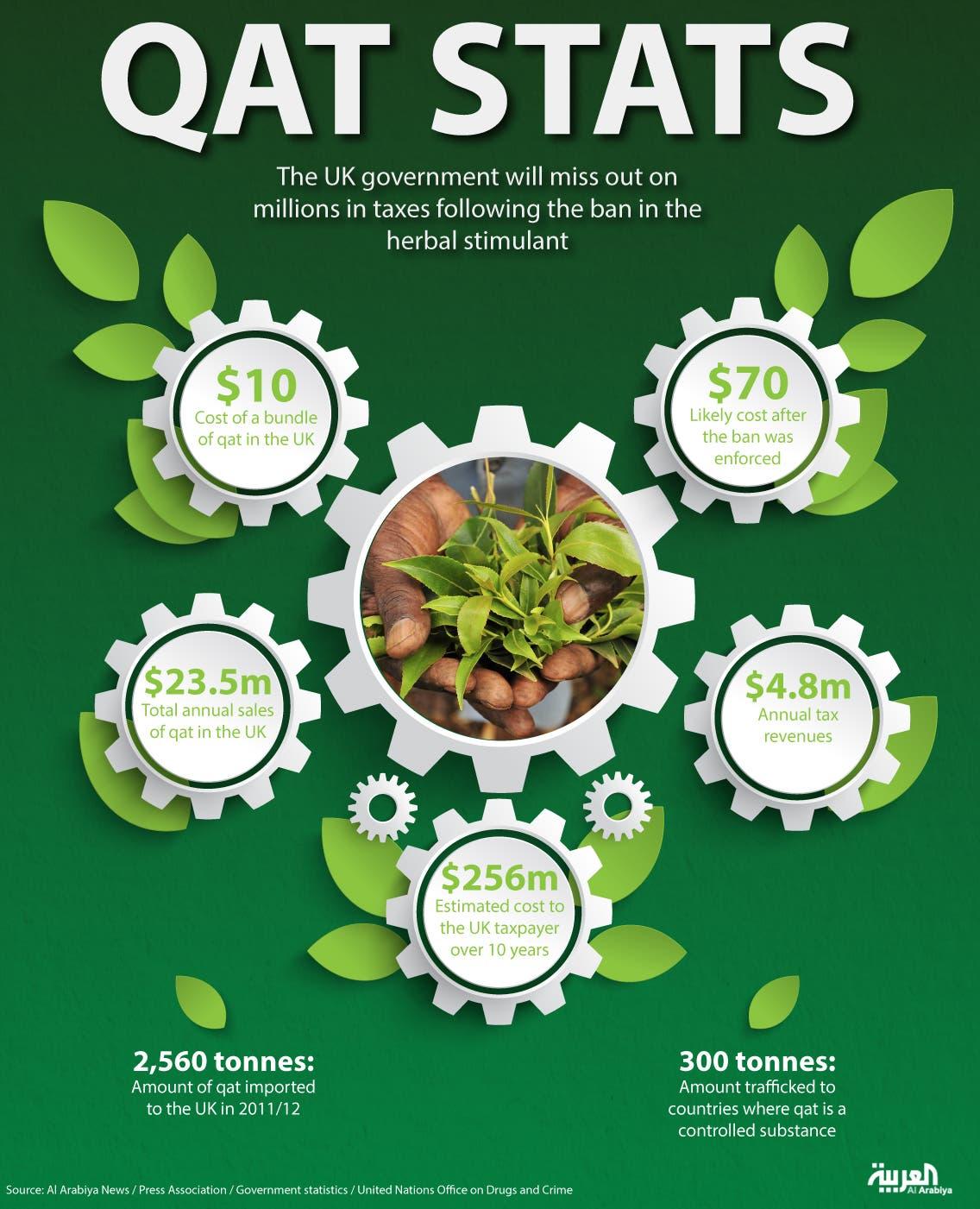 Infographic: Qat stats