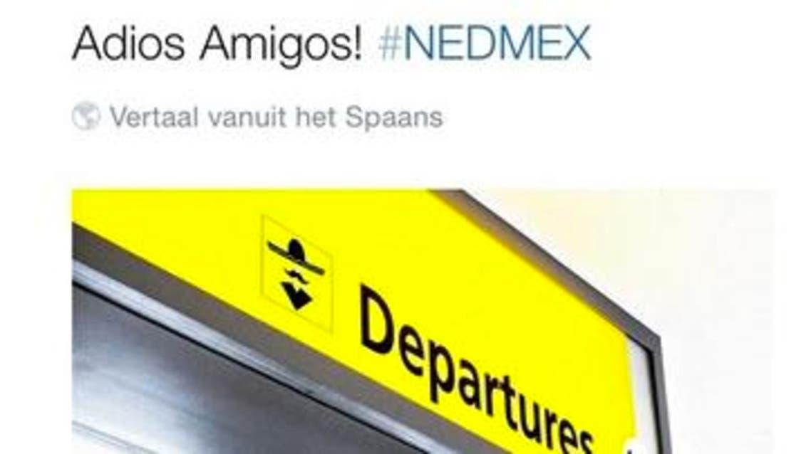 تغريدة KLM