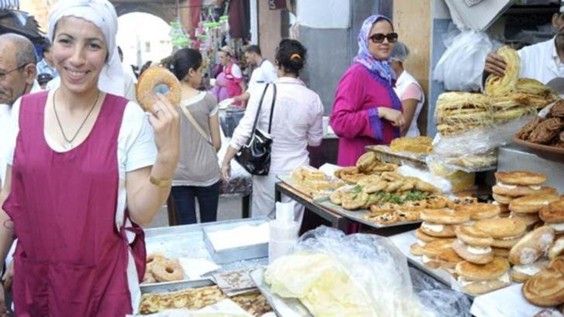 أصناف متنوعة من المعجنات المغربية الخاصة بشهر رمضان في المغرب