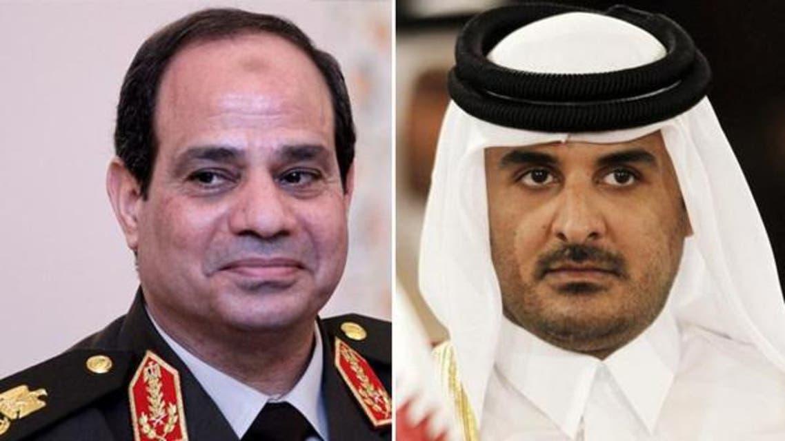 سیسی+امیر قطر