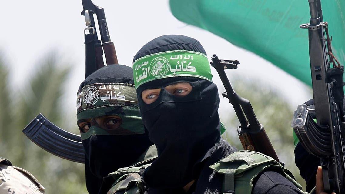 مسلحون من حماس في غزة