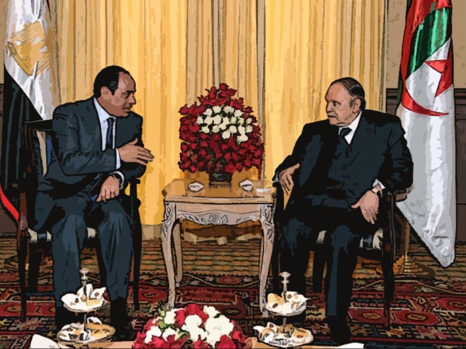 Sisi warms to Bouteflika