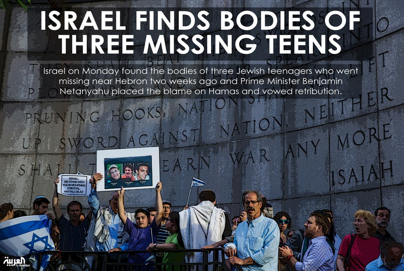Israel finds bodies of three missing teens