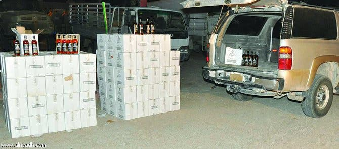 Alcohol manufacturer raided in Saudi Arabia