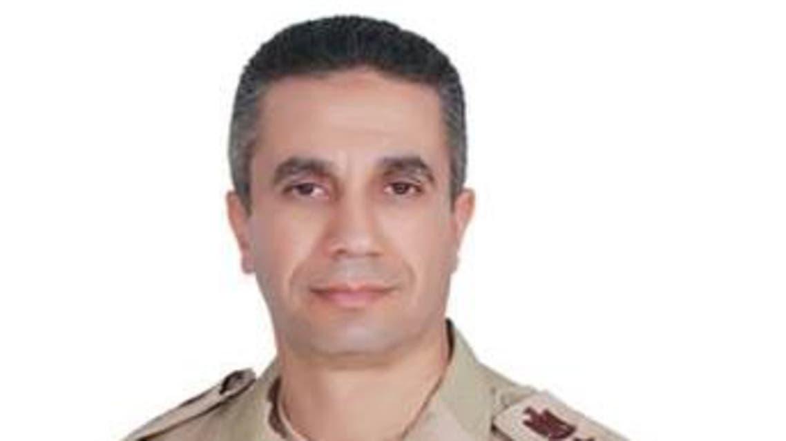 المتحدث العسكري المصري العميد محمد سمير عبد العزيز