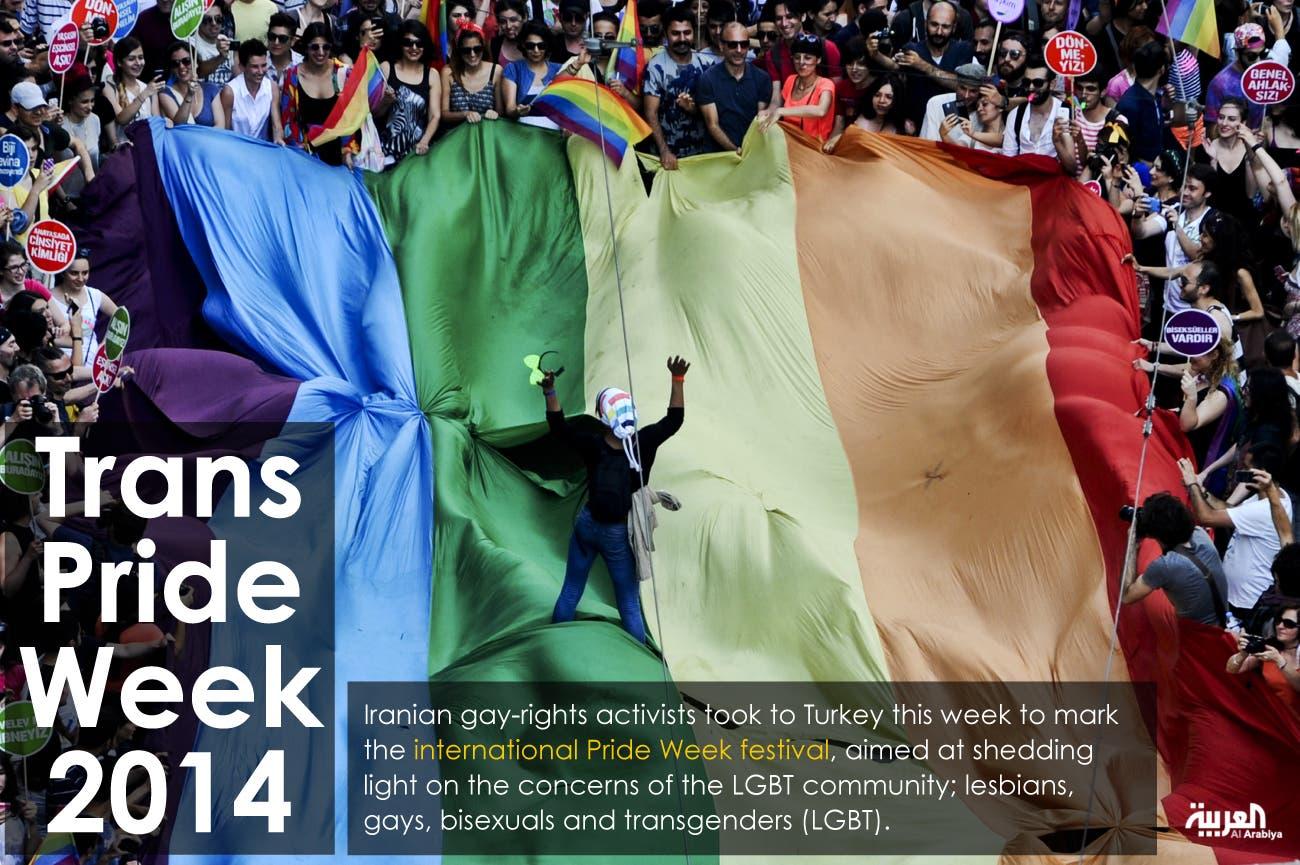 Trans pride week 2014