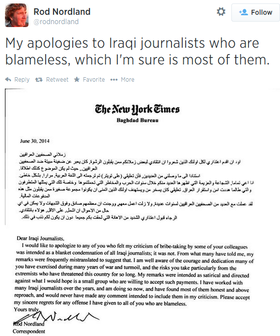 iraq nyt twitter