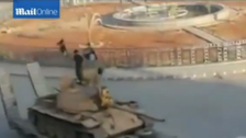 ISIS parades ballistic Scud missile in Syrian town