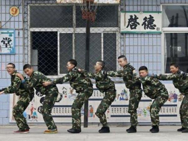 الحياة العسكرية طريقة لعلاج إدمان الإنترنت بالصين