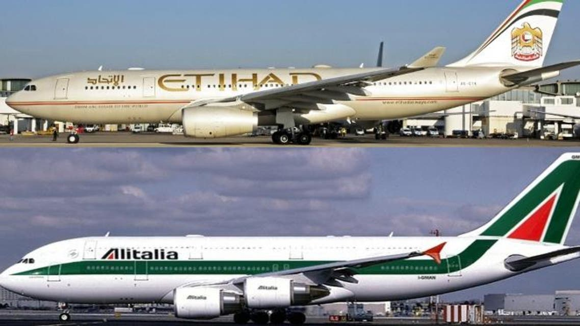 Alitalia and Etihad Airways will offer almost 100 flights per day to and from Milan, linking 866 cities across the globe through 125 direct flights and a further 741 via one-stop connections.  (Al Arabiya)