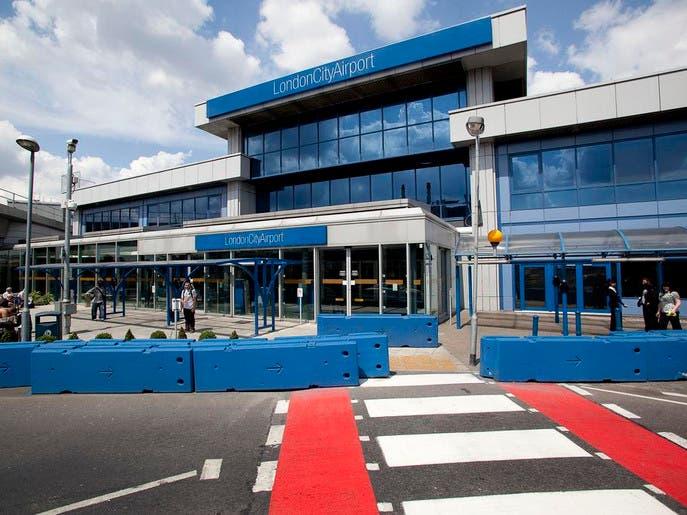 تعليق كل الرحلات التجارية والخاصة من مطار سيتي لندن