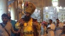 خلیفہ کے لباس میں ملبوس حقیقی شخصیت یا عام آدمی؟