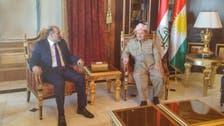 شامی اپوزیشن رہنما جربا کی مسعود بارزانی سے ملاقات