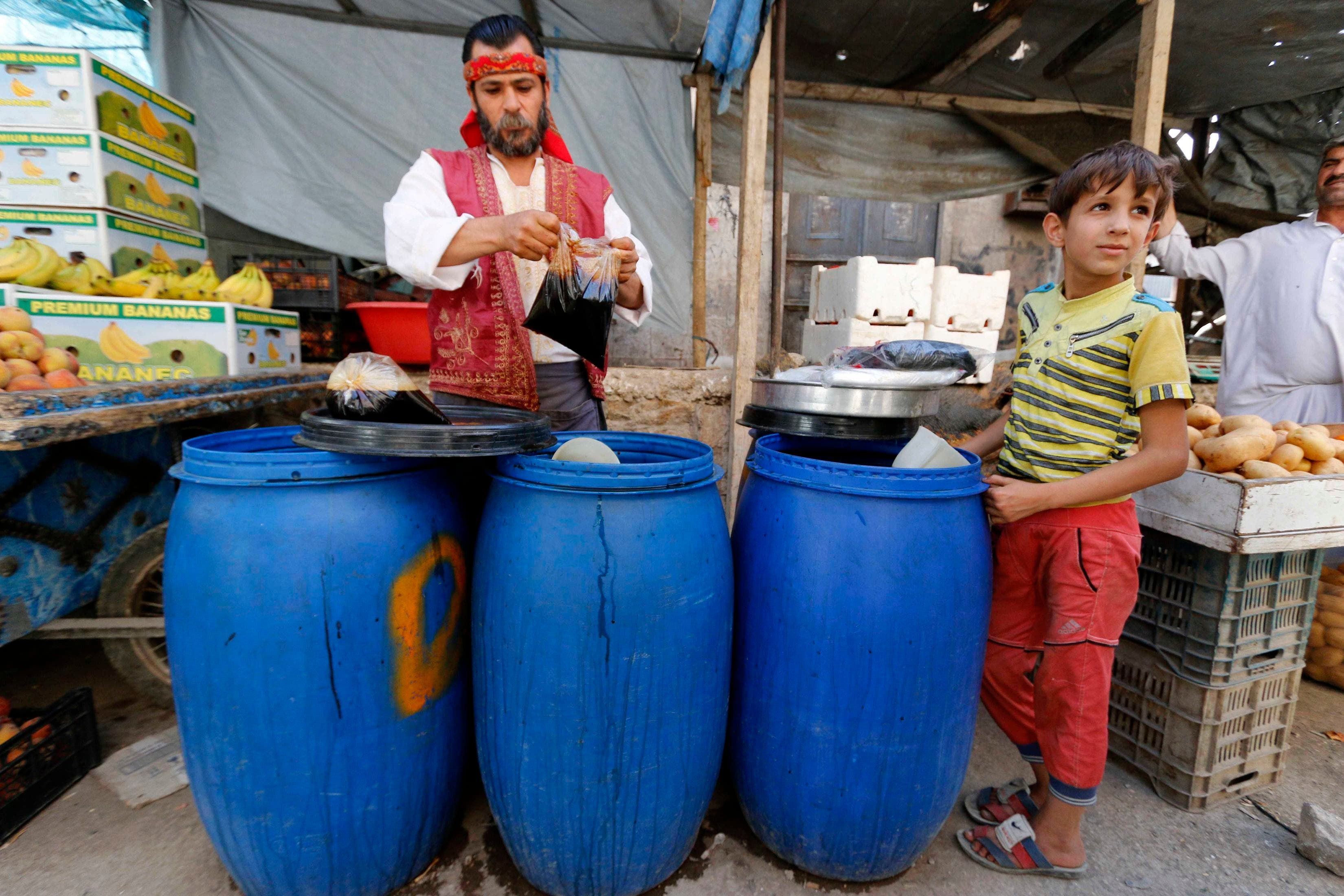 Syrians mark the holy month of Ramadan