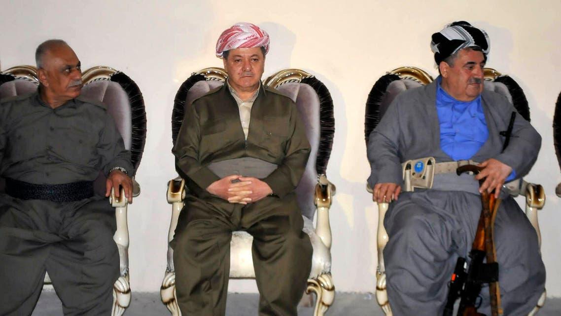 iraq barzani reuters