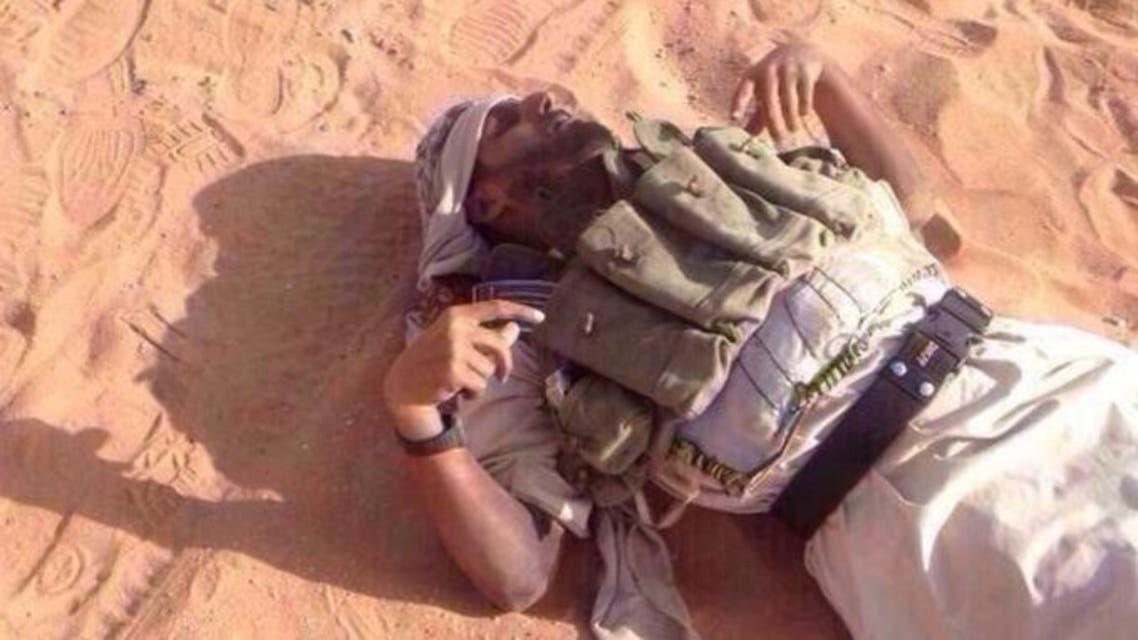 Saudi border attackers. (Al Arabiya exclusive)