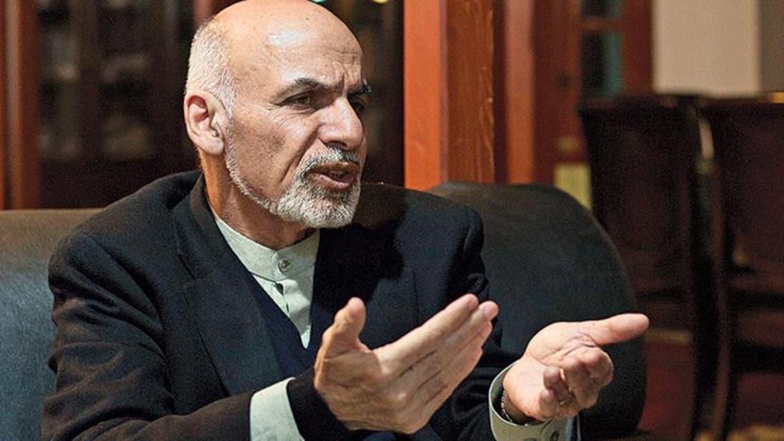 المرشح للانتخابات الرئاسية الأفغانية أشرف غني