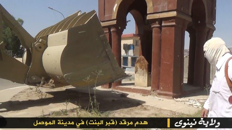 تدمير الأضرحة والمراقد في العراق