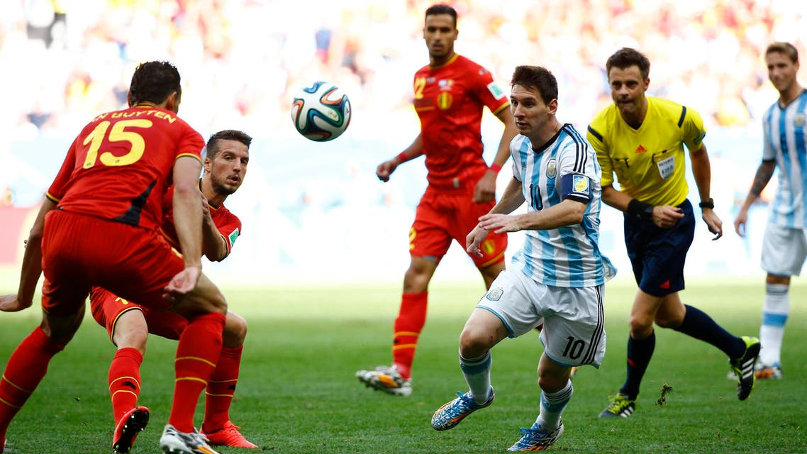 Argentina beats Belgium 1-0 to advance to World Cup semifinals
